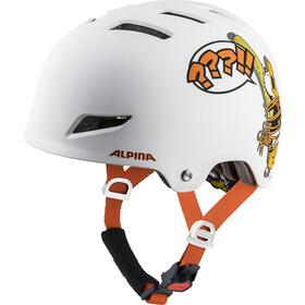 Alpina Park - Casque de vélo Enfant - blanc/Multicolore